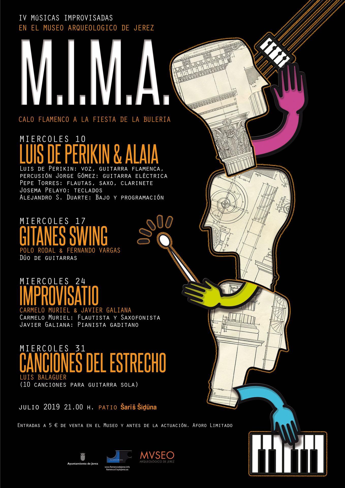 IV Músicas Improvisadas en el Museo Arqueológico de Jerez. Festival MIMA